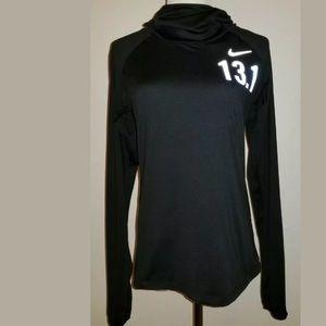 Nike Element long sleeve black pullover shirt